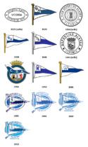 Deportivo Alavés Logo-Evolution, Quelle: lafutbolteca.com