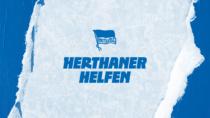 Hertha BSC Hausschrift – Herthaner helfen, Quelle: Hertha BSC