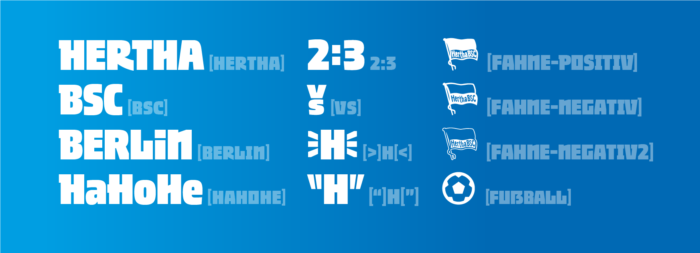 """""""Hertha"""" Font – Ligatur Funktion, Quelle: Supertype"""