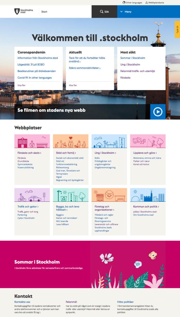 Stockholm Website