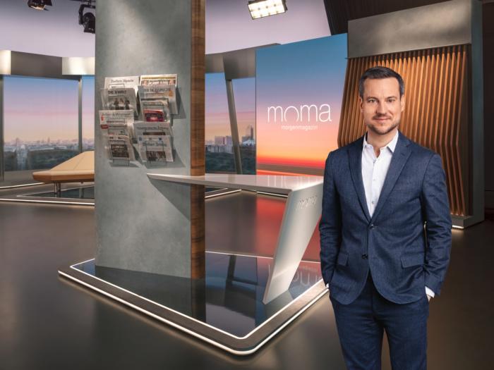 ZDF-Morgenmagazin (ab 2020), Andreas Wunn, Quelle: ZDF/[F] Benno Kraehahn [H] Marcus Höhn [M] RETOUCHING DE LUXE