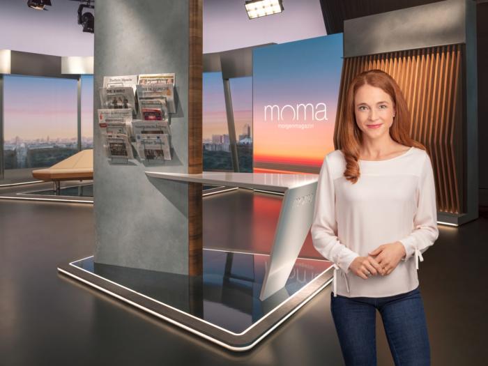 ZDF-Morgenmagazin (ab 2020), Mirjam Meinhardt, Quelle: ZDF/[F] Benno Kraehahn [H] Marcus Höhn [M]