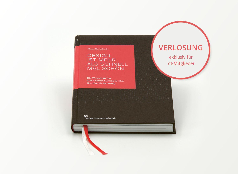 Design ist mehr als schnell mal schön – Maren Martschenko, Quelle: Verlag Hermann Schmidt