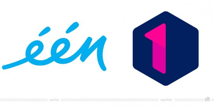 Eén Logo – vorher und nachher