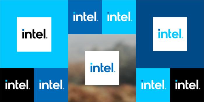 Intel Logo Variationen, Quelle: Intel