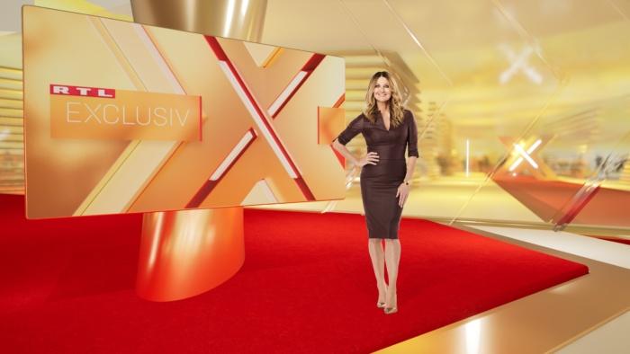 "Moderatorin Frauke Ludowig im neuen ""Exclusiv""-Studio ab dem 21.09.2020 , Quelle: RTL Mediengruppe"