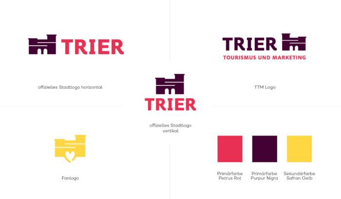 Trier Corporate Design – Stadtmarken, Quelle: Stadtverwaltung Trier
