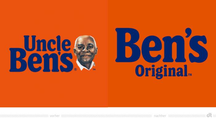 Uncle Ben's Rebranding, Bildquelle: Mars, Bildmontage: dt