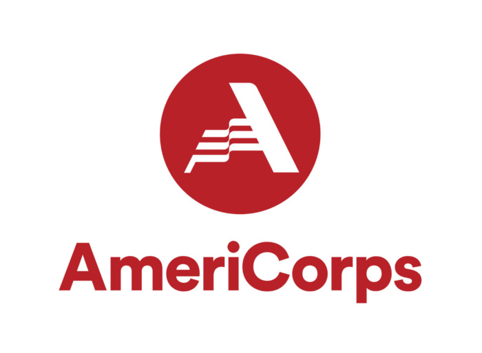 AmeriCorps Logo (red), Quelle: AmeriCorps