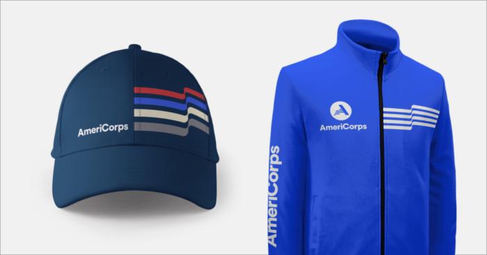 AmeriCorps Merchandise, Quelle: Brandpie