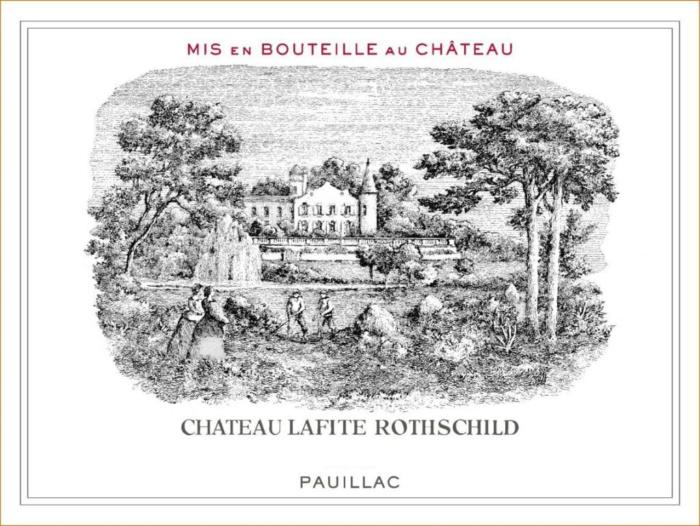 Château Lafite Rothschild Label