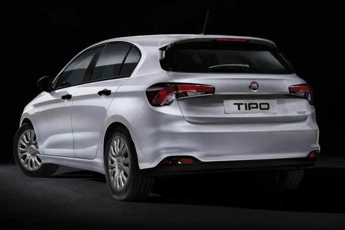 Fiat Tipo (2020) Rück, Quelle: Fiat