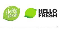 HelloFresh Logo – vorher und nachher, Bildquelle: HelloFresh, Bildmontage: dt