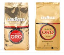 Lavazza Qualità Oro Kaffee Bohnen 1kg – vorher und nachher