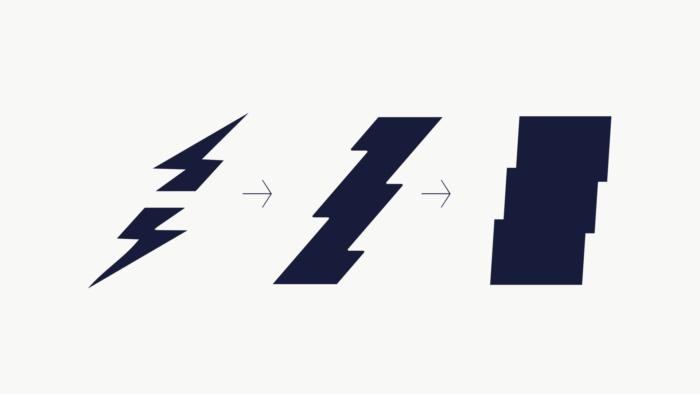 Public Power-Corporation / DEI – Branding Muster Herleitung, Quelle: Beetroot Design Group