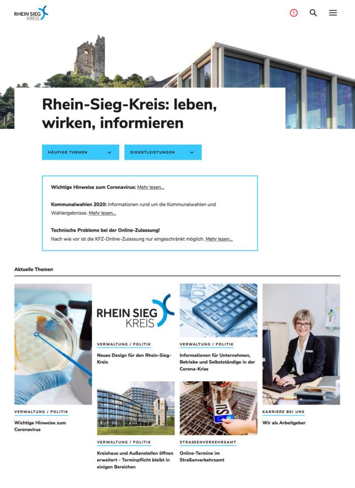 Rhein-Sieg-Kreis – Website