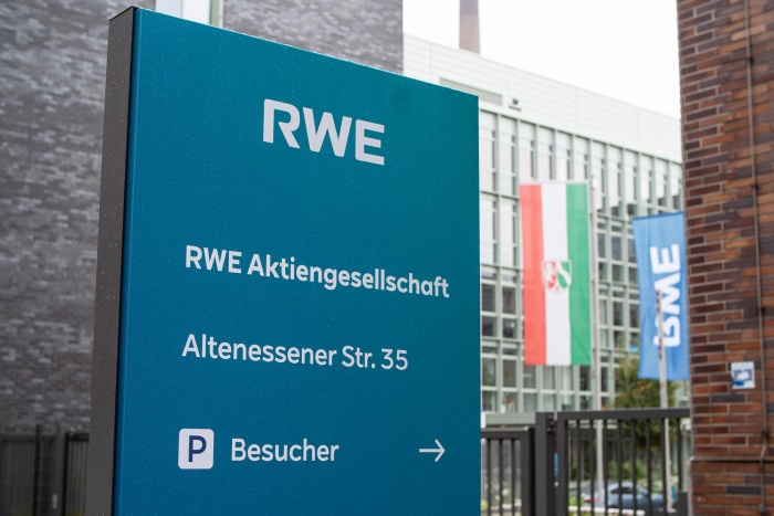 RWE AG Hauptsitz mit neuem Logo, Quelle: RWE