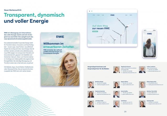"""Die neue RWE – """"Klimaneutral bis 2040"""", Quelle: RWE"""
