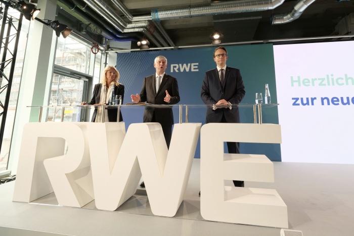 RWE Pressekonferenz Oktober 2019 – neuer Markenauftritt, Quelle: RWE