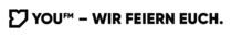 "You FM Logo + Claim ""Wir feiern Euch"", © HR, Quelle: You FM"