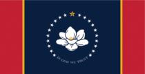 Mississippi State Flag – Entwurf 4, Quelle: Ballotpedia