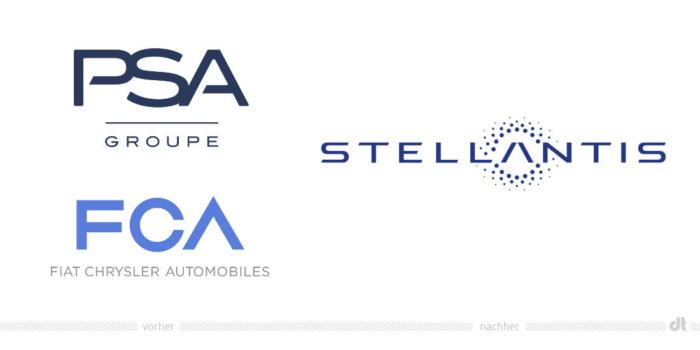 PSA und FCA werden zu Stellantis, Bildquelle: PSA, Bildmontage: dt