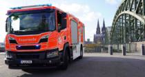 Feuerwehr Köln - Fahrzeug mit neuem Logo, Quelle: Stadt Köln