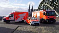 Feuerwehr Köln - Fahrzeuge mit neuem Logo, Quelle: Stadt Köln