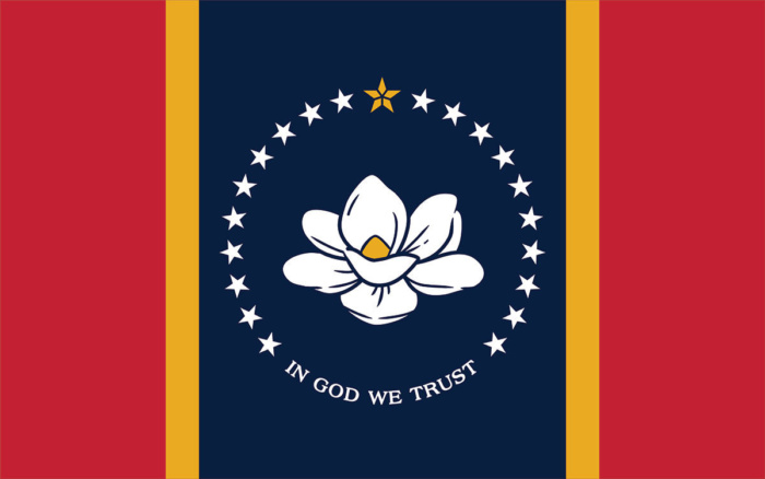 Mississippi Flagge (final), Bildquelle: Mississippi Department of Archives and History
