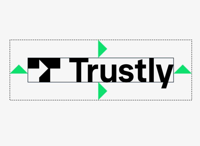 Trustly Logo – Schutzzone, Quelle: Trustly
