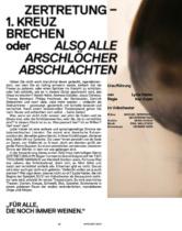 Volkstheater Wien Spielzeitbuch 2021, Bildquelle: Volkstheater Wien