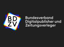 BDZV Logo (negativ), Quelle: BDZV