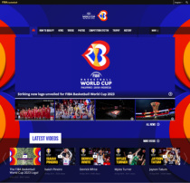 FIBA World Cup 2023 Website