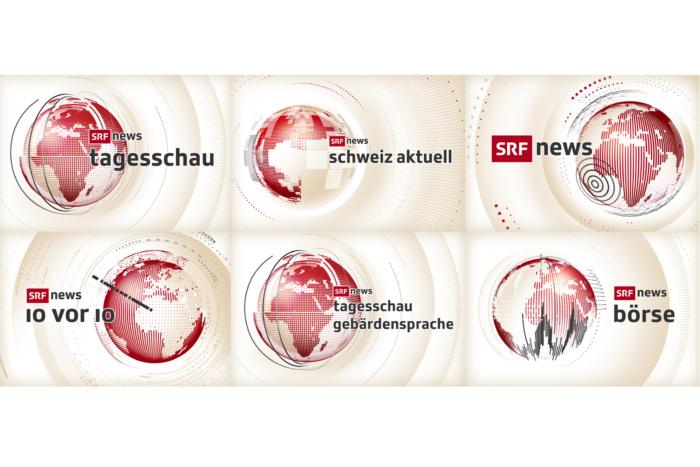 SRF News Die neuen Keyvisuals der SRF News-Sendungen 2020 Quelle: SRF Ab 14.12.2020