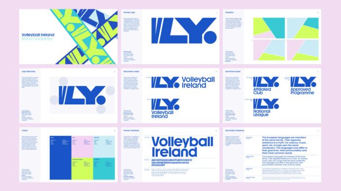 Volleyball Ireland – Brand Guidelines, Quelle: Volleyball Ireland
