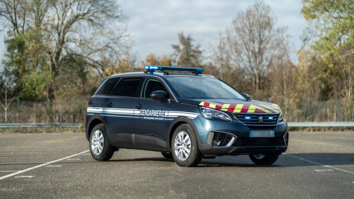 Gendarmerie – Fahrzeugdesign (2021), Quelle: Peugeot