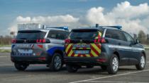 Police nationale / Gendarmerie – Fahrzeugdesign (2021), Quelle: Peugeot
