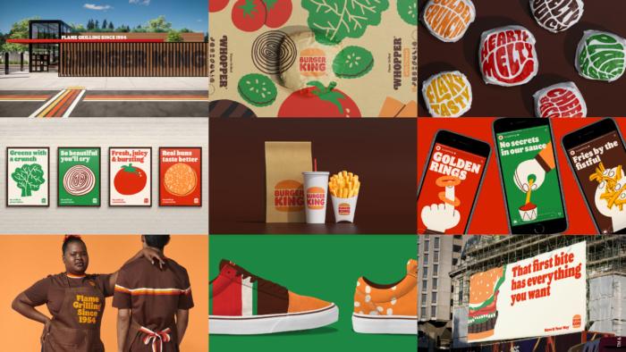 Burger King Rebrand – Anwendungsbeispiele, Quelle: Burger King Deutschland