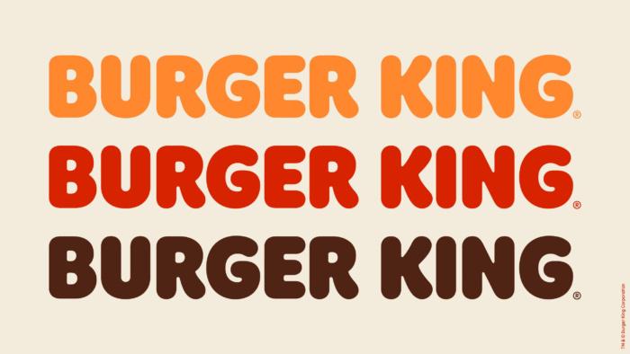 Burger King Wordmark Colors, Quelle: JKR