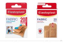 Elastoplast Fabric – vorher und nachher, Bildquelle: Beiersdorf, Bildmontage: dt