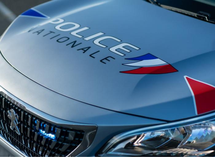 France Police Car Design, Quelle: Peugeot