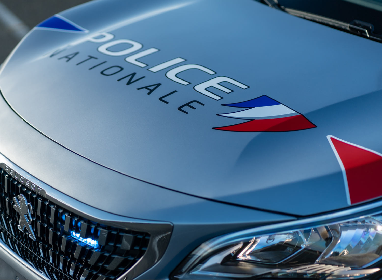 France Police Car Design, Quelle: Peugeot