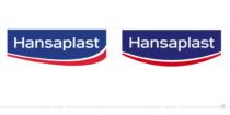 Hansaplast Logo – vorher und nachher, Bildquelle: Beiersdorf, Bildmontage: dt