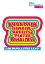 Landtagswahl Baden-Württemberg 2021 FDP – Plakat, Quelle: FDP Baden-Württemberg