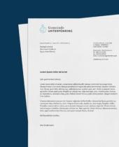 Gemeinde Unterföhring – Briefpapier, Quelle: Im Neuland
