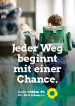 Landtagswahl Baden-Württemberg 2021 Bündnis 90/Die Grünen – Plakat, Quelle: Bündnis 90/Die Grünen Baden-Württemberg