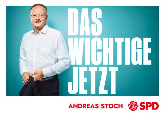 Landtagswahl Baden-Württemberg 2021 SPD – Plakat: Das Wichtige jetzt, Quelle: SPD Baden-Württemberg