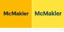 McMakler Logo – vorher und nachher, Bildquelle: McMakler, Bildmontage: dt