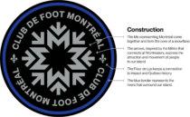 Club de Foot Montréal Logo Erklärung, Quelle: MLS