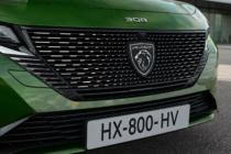 Peugeot 308 (2021) mit neuem Logo – Front